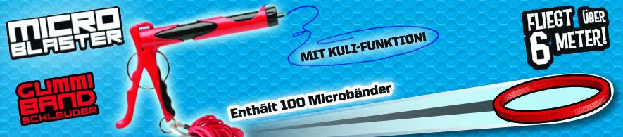 D Micro Blaster - Gummiband Schleuder