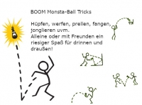 BOOM Monsta-Ball, rot